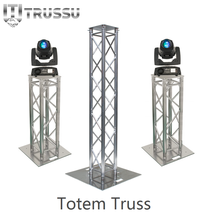 TRUSSU Global Cheap Mini Speaker Trusses Totem On Sale Aluminum Lighting Tower Truss