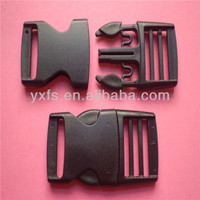 Yixiang POM plastic double adjustable side release insert buckles