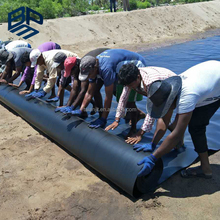 HDPE Waterproofing Membrane Polyethylene Sheeting Pond Liners