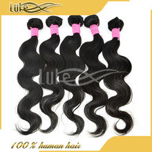 AAAAA+ Top Grade 5A Best Quality Best Selling 100% Human Virgin 26 Inch Human Hair Extensions