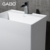 China Suppliers Bathroom Artificial Stone Pedestal Basin