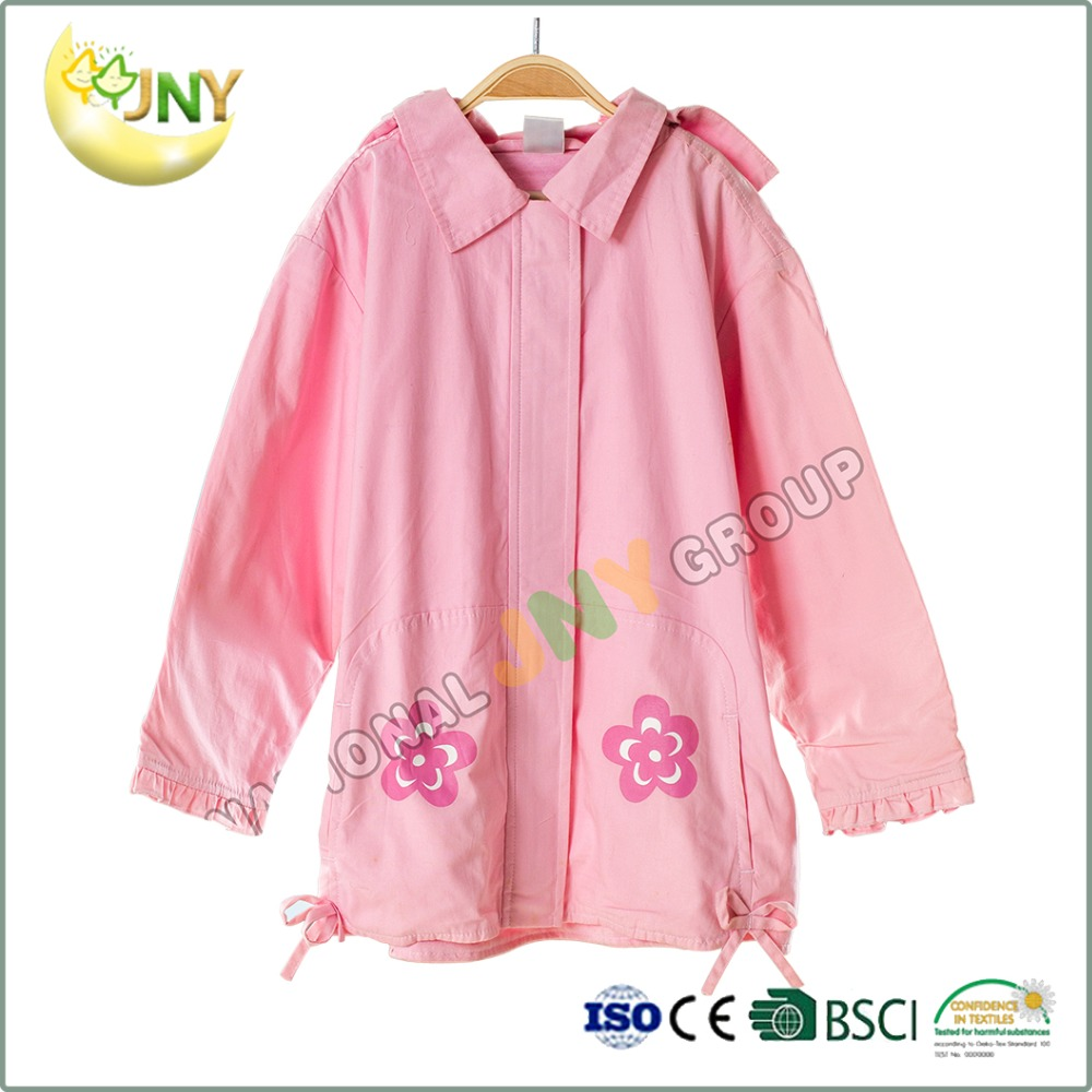 Baby girls spring coats and kids trench coat
