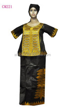 latest Bazin African high quality embroidery women's or man's Clothes,riche,georges kaftan nice Lady or man dress