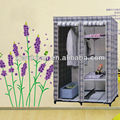 sliding storage protable non-woven wardrobe