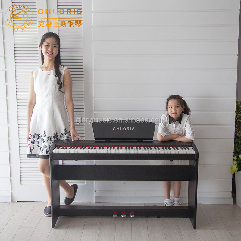 Small Music Instrument 88 keys digital electric piano For Home Decoration