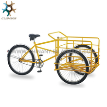 High quality family cargo bike/reverse trike for sale/three wheel bike with a open box UB9033