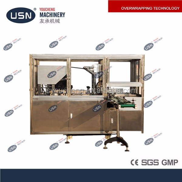 YC-350 Full Automatic Playing Card Plastic Wrapping Machine