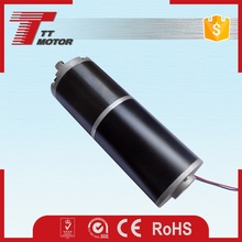 High torque low rpm electric planetary gear dc motor 24v 500w
