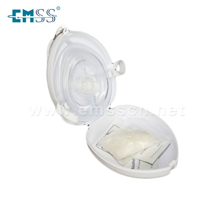 EH-010 Emergency One-way Valve CPR Mask With Pocket