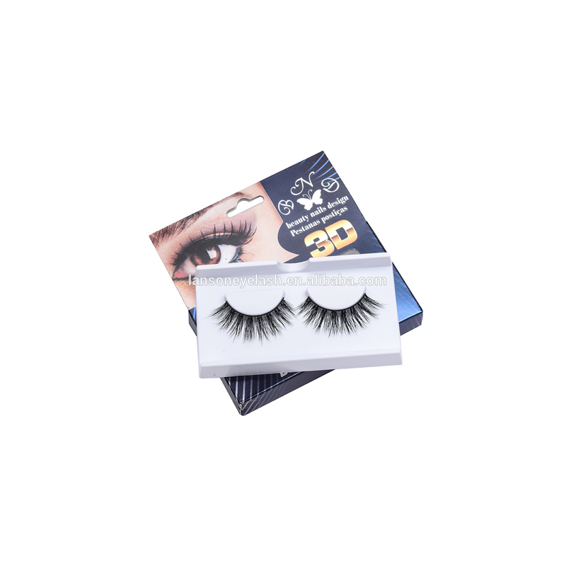 well <strong>selling</strong> OEM service private label false black strip eyelashes 3D mink