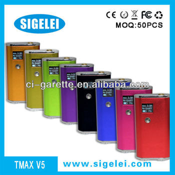 sigelei Big best beauty new e-cigarette for 2013 vmax tmax v5