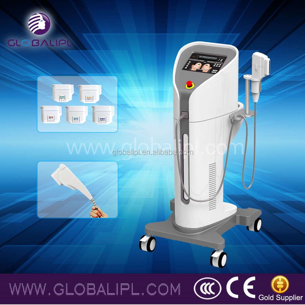 Good quality face lifting beauty machine hifu neck & chin lifting fda-cleared