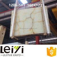 Popular in India white marble onyx of 1.6cm-1.8cm
