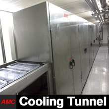 Crystallization Process Electrically Controlled health food Cooling Tunnel Machine For Industry Production Line