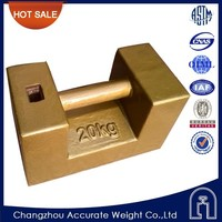 OIML,M1,20kg test weight for crane,test weights with iron material,load test weights