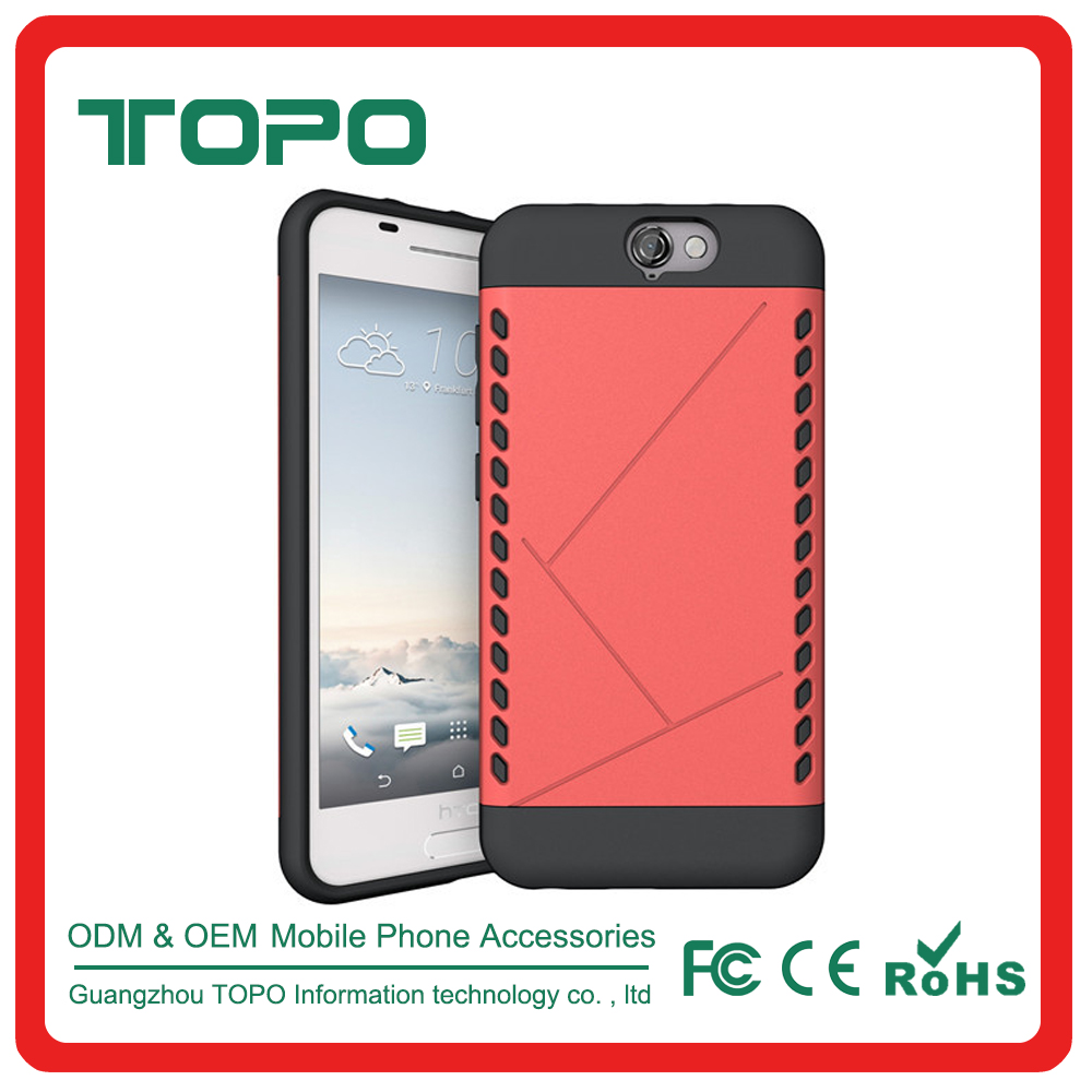 Wholesale 2 in 1 pc tpu armor case phone protector Slim Heavy Duty Shockproof Case for HTC A9