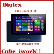 Orignal 11.6Inch Cube iwork11 2GB Ram 64GB Rom GPS OTG Multilanguage U32gt Tablet pc 5MP Camera 1920*1080p