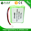 BT-909 NI-MH 3.6V 700mah cordless phone battery pack For UND