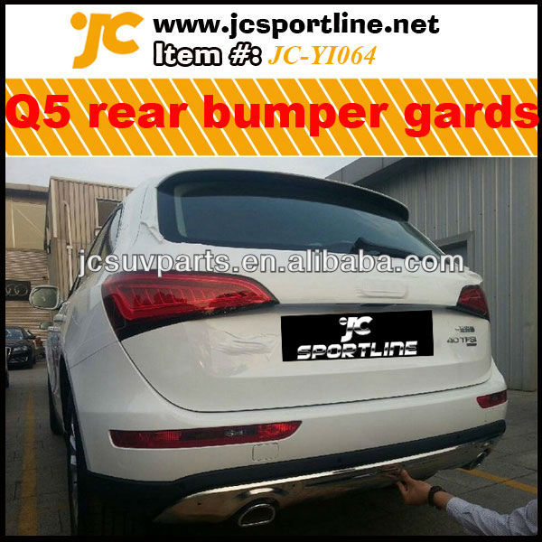 Mirror Look 2013 Q5 Rear Bumper Guard For Audi Q5