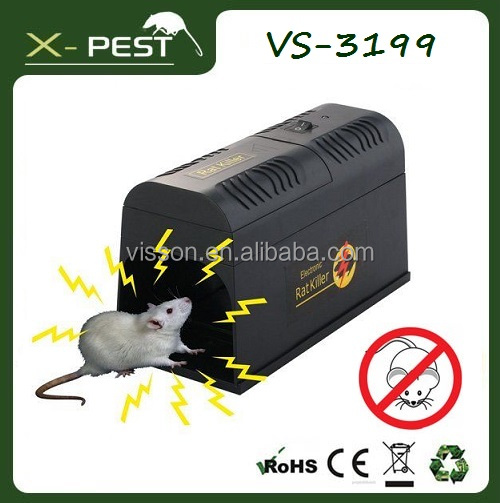X-pest VS-3199Indoor No-chemical Plastic House Advanced 8000-10000V Electronic Mouse Mole Insect Rat Pest Trap Killer Cage