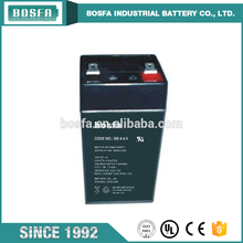 Wholesales high performance regulated 4v 4.5ah rechargeable lead acid battery for lamp
