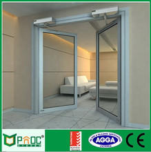 100% true capacity America style Wood casement door