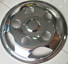 17 /17.5 inch stainless wheel cover for mini bus