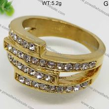 new design Holiday Hot Sale Sparkling Lucky Unisexdiamond ring 10k