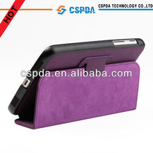 For Samsung Galaxy Tab 3 7.0 P3200 Tablet Purple PU Leather Folio Stand Case