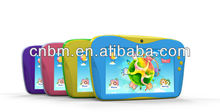 7 inch Android 4.2 Dual Core Children Kids Tablet 1024X600 pixels RK3026 dual core RAM 512G+ROM 4G