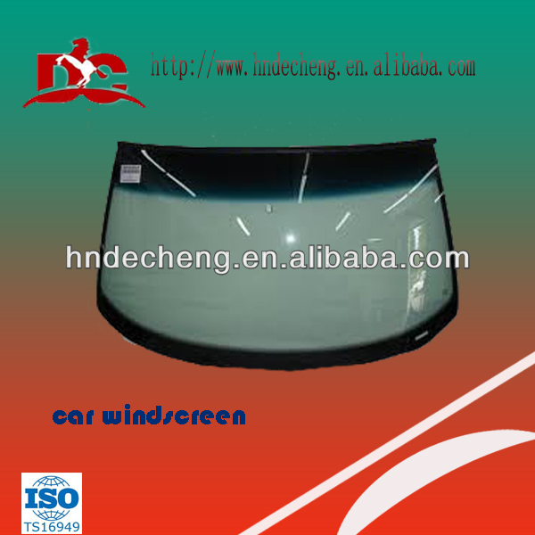 Front windshield glass for all kinds of cars