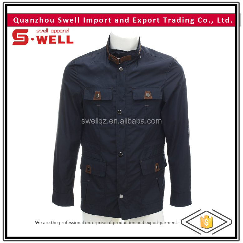 fashionable cotton winter men jackets casual