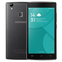 Original Brand NEW DOOGEE X5 MAX Pro 2GB+16GB 5.0 inch smart phone 4G unlock 3G 2G cell phone Black