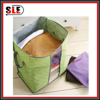 Foldable non-woven fabric storage box/portable storage box
