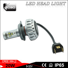led headlamp h4 car headlight bulb h4 high power led headlight for harley davidson