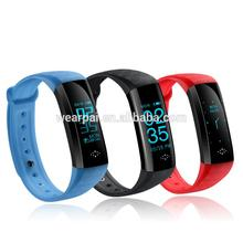 Multifunctional power balance sport health wristband tw64 bluetooth fitness tracker with blood pressure for wholesales