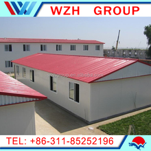 cheap prefabricated house / light steel frame house made in China