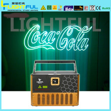 high power 5 watt rgb laser projector,advertising laser logo projector