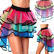 Fashion Tutu Skirt Tail Dance Party Dress Girl Adult Women Lady Full Pettiskirt Hot