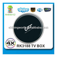 RK3188 quad core smart mini pc android tv box