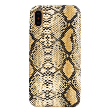 Fashion Snake Skin New Design Soft PU Leather Case for iPhone X, 5 Colors Available