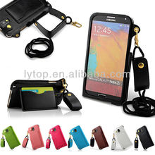 Leather Wallet Card Holder Bag Flip Case Cover For Samsung Galaxy note 3