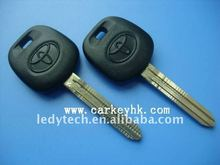 Toyota key shell,transponder key with 4D67 chip,car key