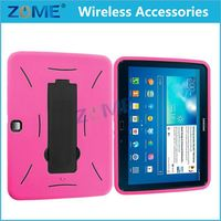 Newest Product Armor Hybrid Hard Defender Stand Case Cover For Samsung Galaxy Tab 3 10.1