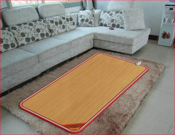 Shenzhen Leadfar Carbon Fiber Electric Heated Floor Mat 220V Underfloor Heating Mat For Feet Warmer Pad