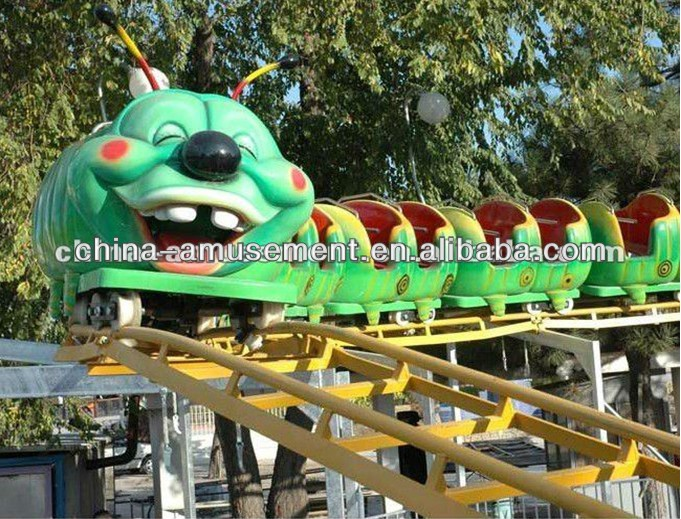 [space amusement]Exciting !!! Outdoor Playground Rides Mini Roller Coaster
