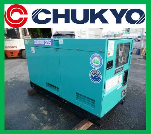 Denyo Generator 20 kw DCA - 25SPI - C Japan Model <SOLD OUT>/ Sound proof , 25 KVA , Engine Isuzu