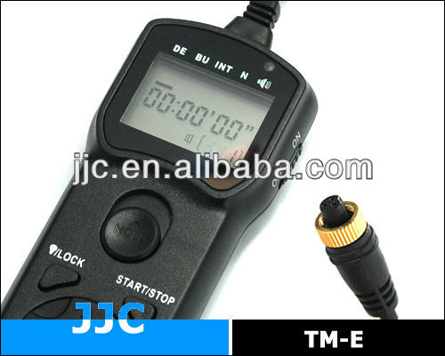 JJC TM-E telecommande remote switch for OLYMPUS RM-CB1 for OLYMPUS E1 E3 E5 E10 E20