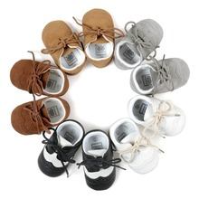Popular blue children leather shoessports shoe funny baby shoes