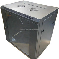 "9u network cabinet 19"" wall mount rack office and home use"
